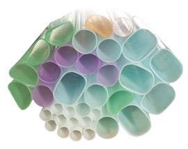 Square Plastic Tube