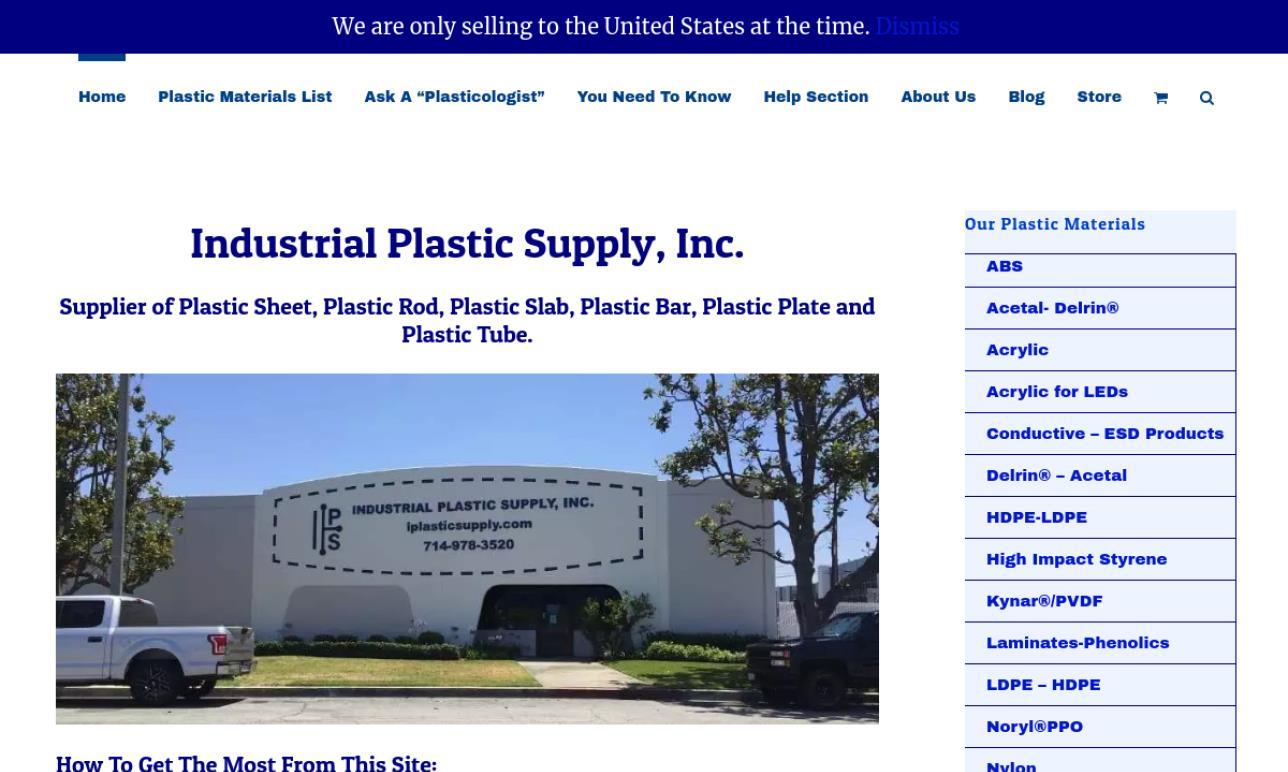 Industrial Plastic Supply, Inc.
