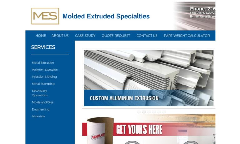 Molded Extruded Specialties